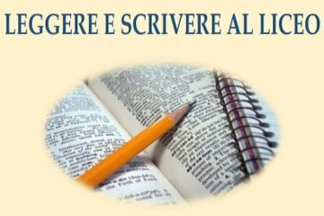 """SEMINARIO DI AGGIORNAMENTO """"LEGGERE E SCRIVERE AL LICEO"""""""